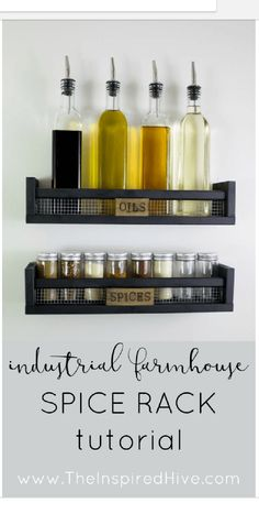 15 useful DIY IKEA hacks that you can apply in your kitchen - Ikea DIY - The best IKEA hacks all in one place Diy Home Decor Projects, Easy Home Decor, Cheap Home Decor, Diy Hanging Shelves, Ikea Shelves, Bathroom Shelves, Bathroom Organization, Storage Shelves, Pantry Organization