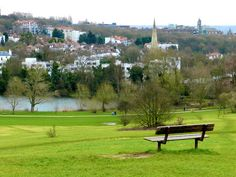 View from Hamstead Heath, London, England.  I played in this park the summer I turned 10 and we spent 6 weeks living in London