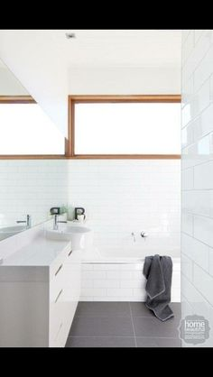 Window & subway tiles