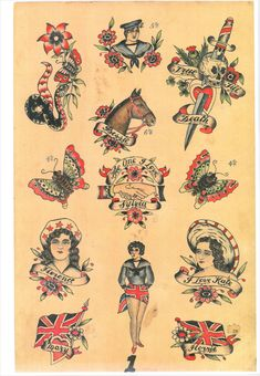 Cecil Rhodes tattoo history,old tattoo flash - Cecil (or John Henry) Rhodes was. - Cecil Rhodes tattoo history,old tattoo flash – Cecil (or John Henry) Rhodes was one of the first - Vintage Tattoo Art, Antique Tattoo, Vintage Tattoo Design, Old Tattoos, Arrow Tattoos, Ship Tattoos, Small Tattoos, Ankle Tattoo Small, Ankle Tattoos