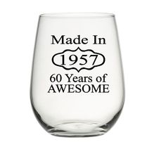 60th Birthday Gifts For Man Or Woman Wine Glass Party Favor Dad Mom Mug