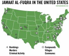 "THE PHONY ""WAR ON TERROR"": There are not one, not 10, not 20, but 22 known, FBI-verified Islamic-run Jihadi terror training camps existing RIGHT NOW on US soil in over 15 different states. And those are only the ones the FBI will admit to. Now do you see how phony and useless the WAR ON TERROR hoax truly is? #PamelaGeller #IslamInAmerica http://www.nowtheendbegins.com/blog/?p=31191"
