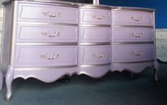 Vintage French Provincial Dresser by Barker Brothers by ProvincialbutFrench, $1100.00