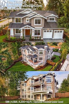 Architectural Designs Craftsman House Plan 23650JD gives you 5 beds, 4.5 baths and over 4,200 sq. ft. of heated living space PLUS an optional finished lower level. Ready when you are. Where do YOU want to build? #23650JD Pinterest #Tagging 100% #adhouseplans #architecturaldesigns #houseplan #architecture #newhome #newconstruction #newhouse #homedesign #dreamhome #dreamhouse #homeplan #architecture #architect #housegoals #Modernfarmhouse #Farmhousestyle #farmhouse