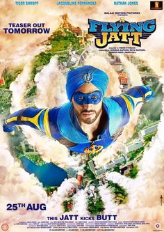 A Flying Jatt #AFJ2016 New Upcoming Bollywood Movie 2016 First (1st) Official Poster Look and New Motion Poster of #TigerShroff Out Today. Have a look.