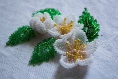 Beaded flowers ~ Seed Bead Tutorials