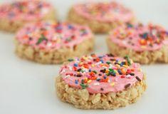 sugar cookie rice krispie treat