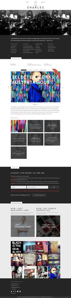 The Charles - Full service creative and digital agency