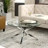 couchtisch modern – Google-Suche Tempered Glass Table Top, Small Dining Area, Modern Sideboard, Glass Dining Table, Space Saving, Chrome, Contemporary, Furniture, Design