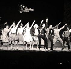 Así se veía la función de las 100 representaciones de Vaselina.   #Vaselina #AlejandroSpeitzer #Mexico #kiko #musical #teatro #obra