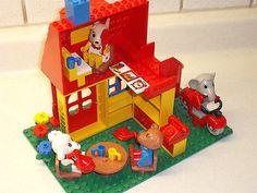 Lego Fabuland Traum Villa Nr 3674 von 1987 + 2 Gästen selten Rarität alt in Spielzeug, LEGO | eBay