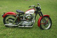 1962 Harley Davidson Sportster XLCH
