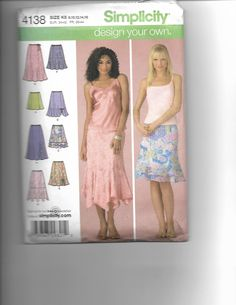 Simplicity 4138 by CraftingMoose on Etsy