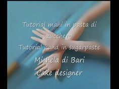 Tutorial mani in pasta di zucchero ♥ Tutorial hand in sugarpaste