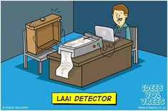 #laaidetector #afrikaans #humor #grappe #snaaks #ivv #Idees_vol_vrees #lagndag Afrikaans, Family Guy, Funny, Fictional Characters, South Africa, Language, English, Beautiful, Humor