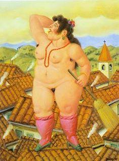 La Loca 1996 by Fernando Botero