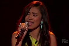 TOP 6 Jessica Sanchez Performs 'Dance With My Father' - American Idol 11 April 25