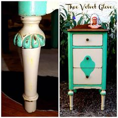 Shabby Sweet Nightstand - Shabby Paints