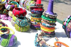 Ankara bangle designed by Chic Therapy. You can get them here>>> http://www.thechictherapy.bigcartel.com/