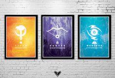 DESTINY Inspired Subclass Poster - Fanart