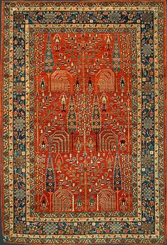 Afghan Bidjar Rug at Emmett Eiland's Oriental Rugs Persian Carpet, Persian Rug, Iranian Rugs, Carpet Colors, Red Carpet, Tribal Rug, How To Clean Carpet, Floor Rugs, Kilim Rugs
