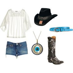cowgirl chic, created by caitlynrogers1992