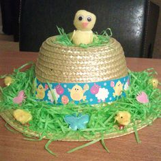 Easter Bonnet Ideas- 24 Easter Hats That Will Delight Your Kids Easter Hat Parade, Easter Bonnets, Easter Chick, Projects To Try, Journal, Make It Yourself, Hats, Ideas, Hat