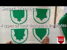 Different types of neckline cutting Chudithar Neck Designs, Neck Designs For Suits, Blouse Neck Designs, Types Of Necklines, Different Necklines, Blouse Neck Patterns, Tailoring Techniques, Churidar Designs, Simple Blouse Designs