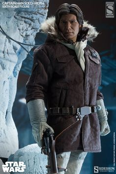 Sixth Scale Figure - Captain Han Solo - Hoth (Sideshow Exclusive - Detailed Portrait without headgear) #21341