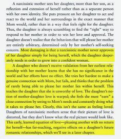 Five Hundred Pound Peep: Narcissistic mother. This totally speaks to me and my experience.