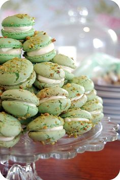 I attended a baby shower on the weekend for my lovely friend J. I took along some mini pistachio macarons, which were selected specifically so I could colour the little mouth sized treats with the...
