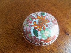 Vintage Brass and Enamel Cloisonne Trinket by bettyrayvintage, $22.00