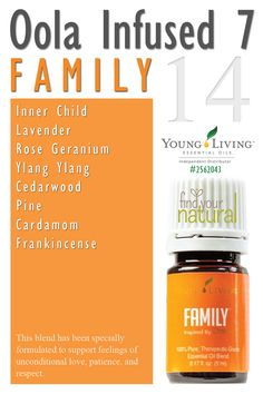 Young Living Essential Oils: Oola Infused 7 Kit - Family Tammy Bennett Independent distributor: 2428551