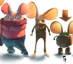 PELIONGAS (mouseong) on Behance ★ Find more at http://www.pinterest.com/competing