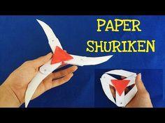 Super Spinning Ninja Star Blade Shuriken - Spin it 3 ways - Origami Tutorial by Paper Folds Instruções Origami, Origami Dragon, Origami Stars, Shuriken, Cool Paper Crafts, Diy Crafts To Do, Paper Crafts Origami, Paper Ninja Stars, Oragami Ninja Star