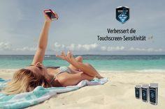"""💎📱Im Gegensatz zu """"herkömmlichen"""" Displayschutzfolien und Displayschutzgläsern, beeinträchtigt die dünne unsichtbare WOWFIXIT-Schutzschicht die Empfindlichkeit des Touchscreens auf keine Weise, sondern verbessert sie sogar! ➛ Alle Touchscreen-Funktionen inkl. 3D-Touch bleiben dabei erhalten ➛ WOWFIXIT ist zertifiziert durch TÜV #WowFixItAustria #SmartphoneSchutz #Zubehör #Nanotechnologie #Displayschutz Smartphones, Bikinis, Swimwear, Beach Mat, Outdoor Blanket, Madness, Sensitivity, Bathing Suits, Swimsuits"""