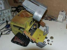 This might not be the easiest project, but at the end, you would have your own Wall-e!