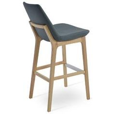 Buy Wood Bar Stools With Backs Online | 212Concept