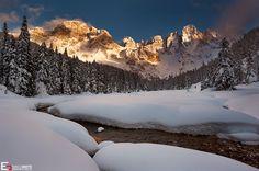 Snow - Val Venegia, Pale di San Martino (Dolomites) by Enrico Grotto on 500px