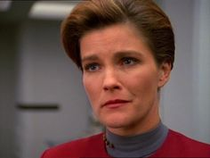 Captain Janeway - Heroes and Demons Great Love Stories, Love Story, Captain Janeway, Kate Mulgrew, Star Trek Voyager, Orange Is The New Black, Spock, Her Smile, Love Her