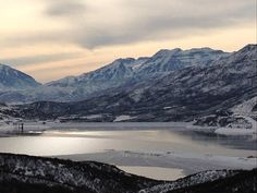 7. Jordanelle Reservoir, Wasatch County, Utah #PhotoADay