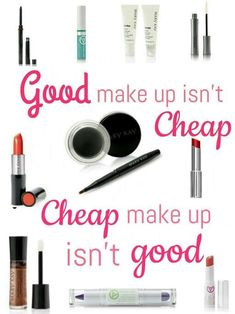 Mary Kay has a 100% Money back guarantee so you can spend your money with confidence!  Let me help you find the right shades, and formulas!