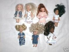 """NG Creations Two Sewing Patterns Wardrobe fits 8/"""" Stacie Doll Barbie Sister"""