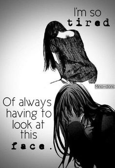 I keep trying and trying to change the way I look.. I'll starve myself, I'll push myself to the bone.. And yet, I still think I'm not good enough... Why?