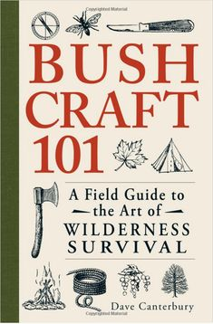 Bush Craft 101 - A Field Guide to the Art of Wilderness Survival - Paperback