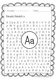 Clasa pregatitoare: Litera A - fișe de lucru School Lessons, Kindergarten Worksheets, Foreign Language, Phonics, Activities For Kids, Preschool, Science, Lettering, Teaching