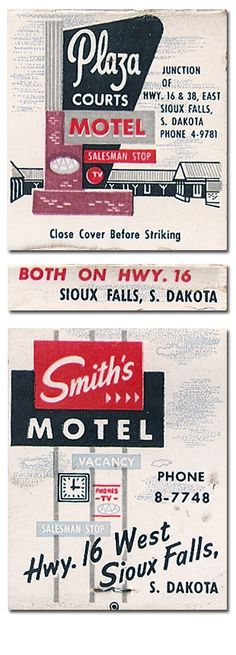 Plaza Courts Motel. #VintageMatchbook. To order your business' own branded #matchbooks call 800.605.7331 or GoTo: www.GetMatches.com Today!