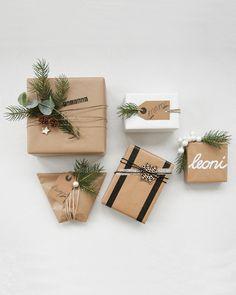 La confezione trasforma l'oggetto in un regalo. Washi, Origami, Wraps, Gift Wrapping, Deco, Gifts, Note, Blog, Gift