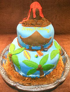 1000 Images About Teen Beach Movie Cake Ideas On