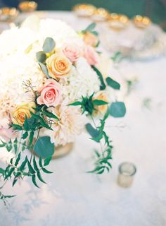 Beautiful centerpiece. Photography: Jen Huang Photography - jenhuangphotography.com